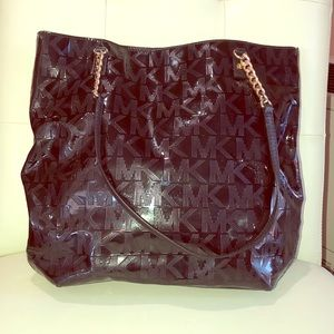 Black MK shoulder bag